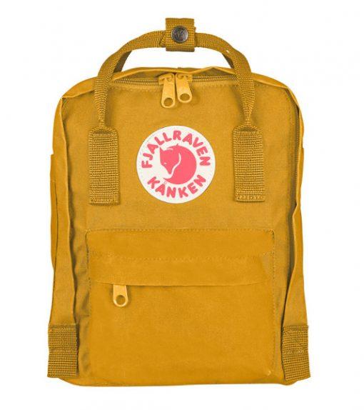 กระเป๋า Kanken Mini สีเหลือง Ochre