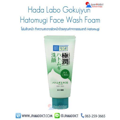 Hada Labo Gokujyun Hatomugi Face Wash Foam
