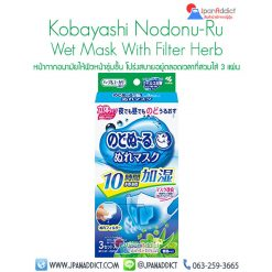 Kobayashi Nodonu-Ru wet mask filter