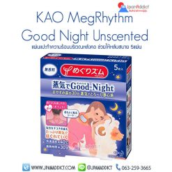 Kao MegRhythm Good Night Steam Neck Unscented