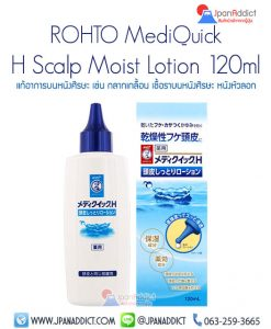 ROHTO MediQuick H Scalp Moist Lotion 120ml