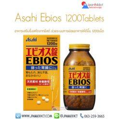 Asahi Ebios 1200Tablets ยีสต์ ช่วยย่อย